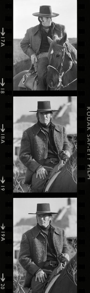 CLINT EASTWOOD CONTACT SHEET (CE011)