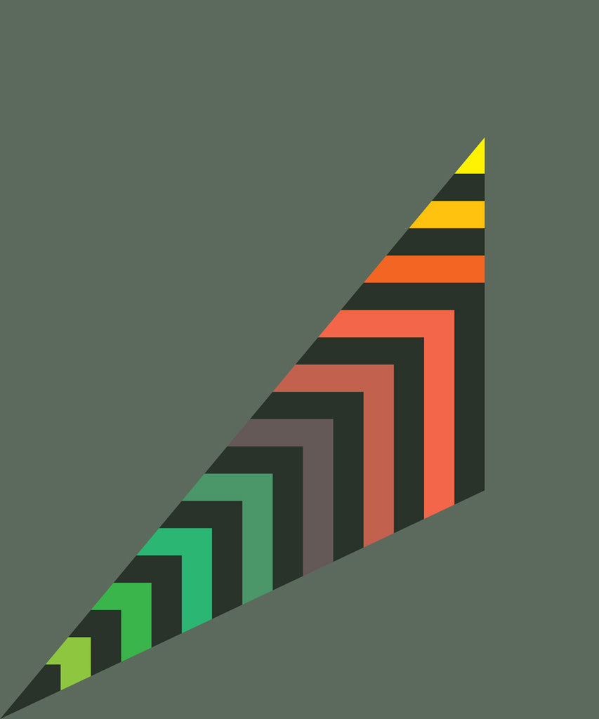 STRIPEY SCALENE TRIANGLE