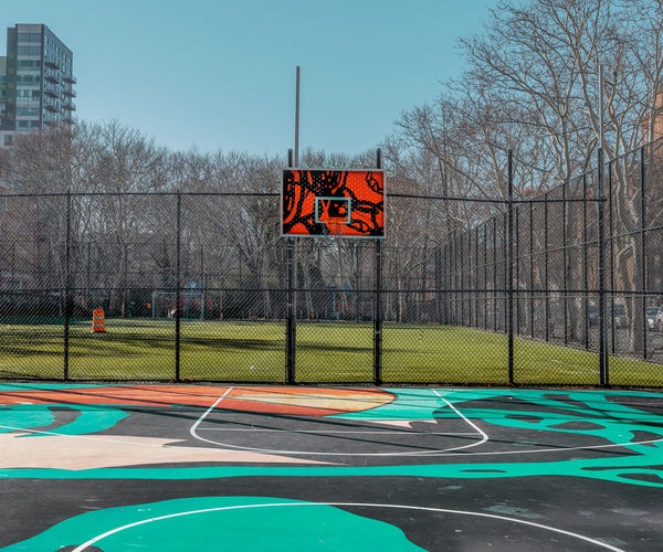 NEW YORK BASKETBALL COURT 2