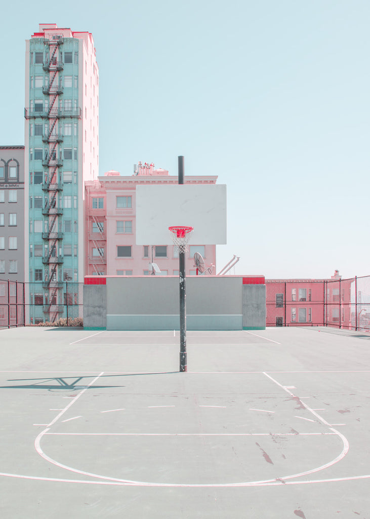SAN FRANCISCO PINK COURT