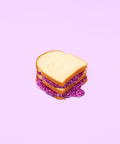 GLITTER SANDWICH PURPLE