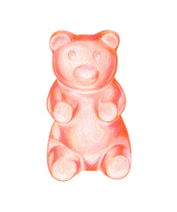 GUMMY BEAR PINK-ORANGE