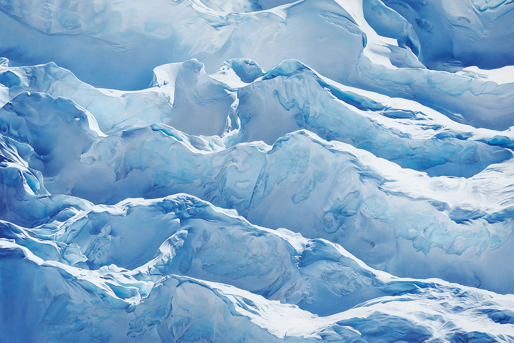 JAKOBSHAVN GLACIER GREENLAND 69 DEGREES NORTH LIMITED EDITION PRINT