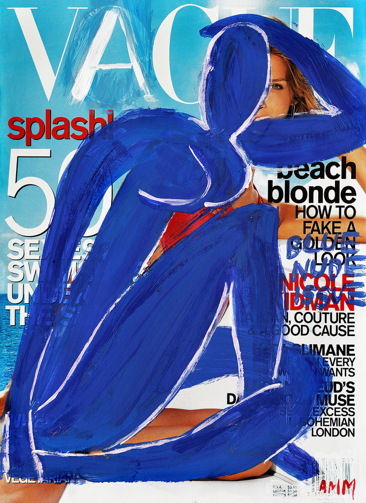 THE BLUE NUDE ISSUE