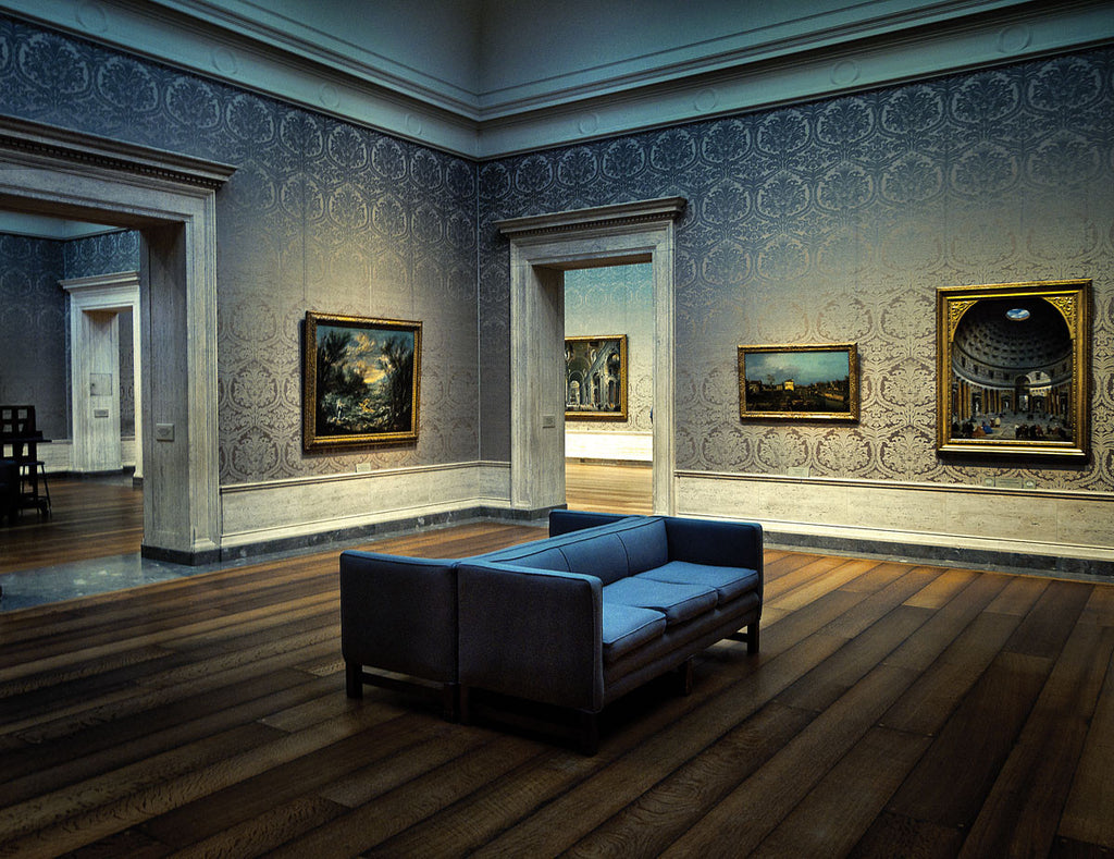 OLD MASTERS PAINTING ROOM NATIONAL GALLERY OF ART WASHINGTON DC