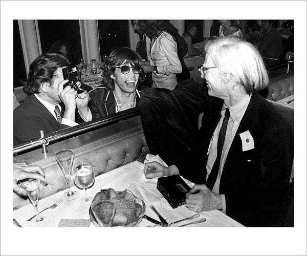 MICK JAGGER, ANDY WARHOL, WINDOWS ON THE WORLD