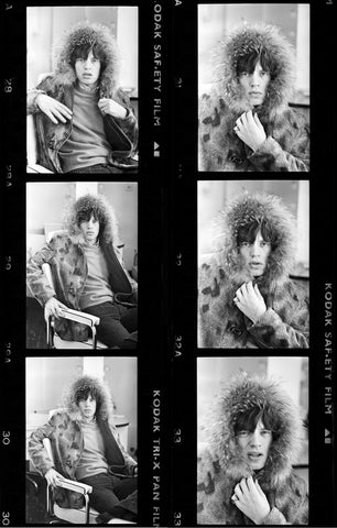 ROLLING STONES CONTACT SHEET (RS286)