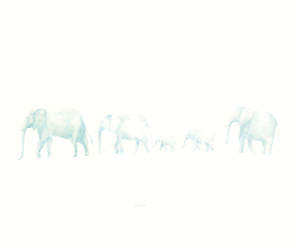 WALKING ELEPHANTS