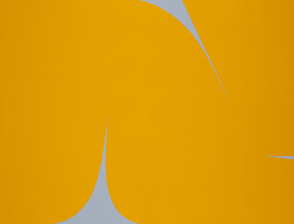 UNTITLED (DARK YELLOW ON GREY)
