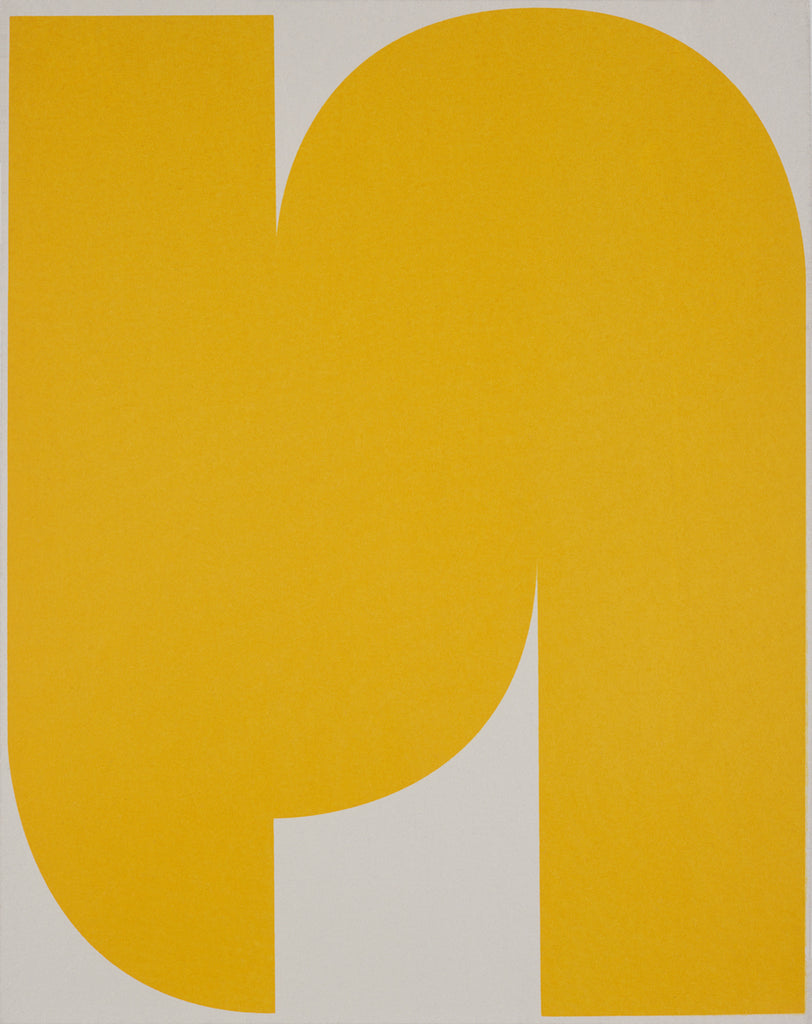 UNTITLED (YELLOW ON LIGHT GREY 1)