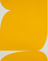 UNTITLED (YELLOW ON LIGHT GREY 2)