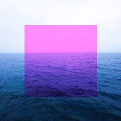 PINK SQUARE AND SEA