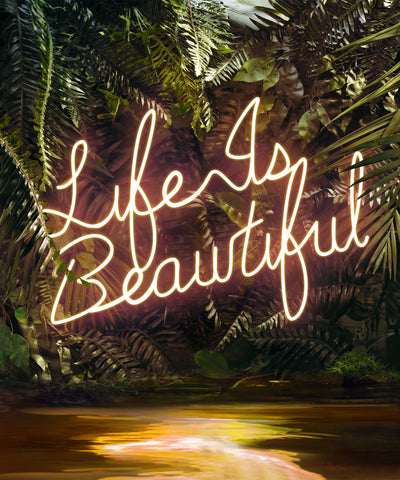 DISCO IN THE JUNGLE: LIFE IS BEAUTIFUL
