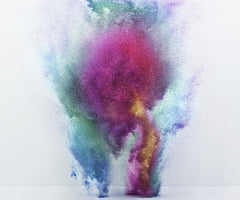 EXPLODING POWDER MOVEMENT: MULTICOLOR