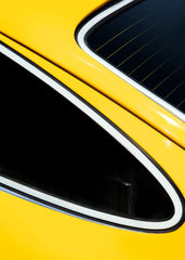 RISKY BUSINESS PORSCHE WINDOWS ON YELLOW