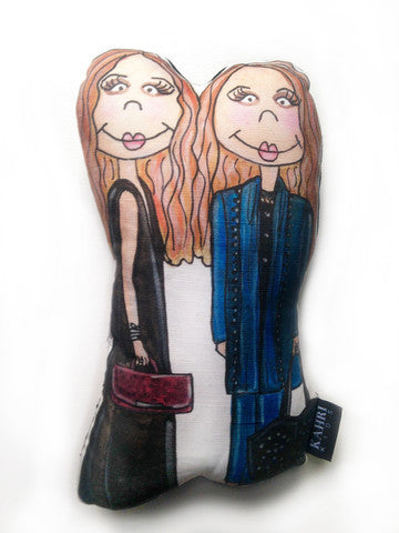 MARY KATE AND ASHLEY OLSON DOLL
