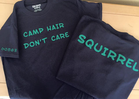 Troop Camp Hair - matte or glitter
