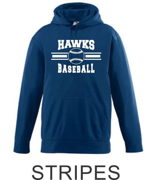 Hawks Baseball Performance Sweatshirt- 4 Designs
