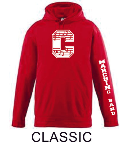 Chap BandPerformance Sweatshirt in 4 Designs