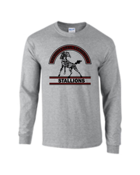 CTE Grey or Black Long Sleeve T-Shirt in 4 Designs