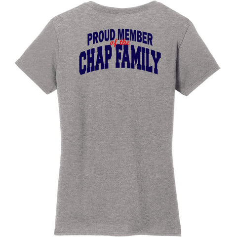 CTE Chap Family Ladies Fit Short Sleeve Tee- Matte or Glitter