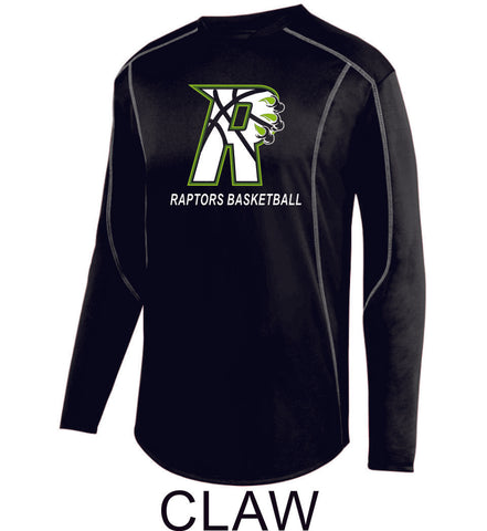 Raptors Edge Pullover- 2 Designs- 4 Sports