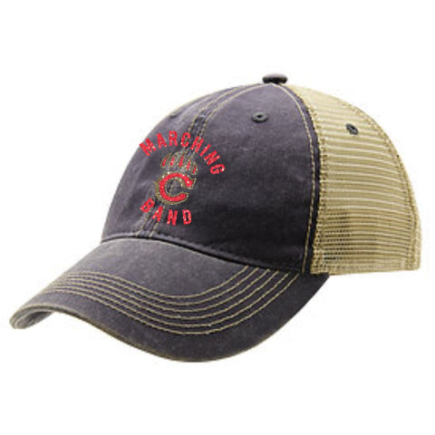 Chap Band Glitter Trucker Hat- 2 designs