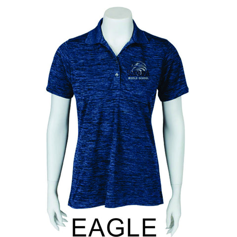 Sierra Staff Heathered Polo- Ladies- 3 Designs