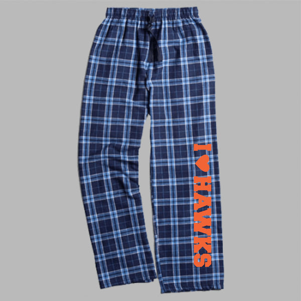 Hawks Flannel Pajama Bottoms
