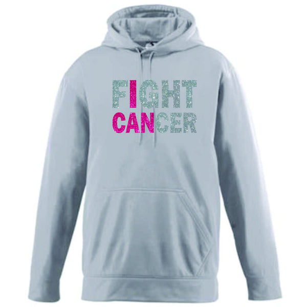 Red Ribbon I CAN Performance Sweatshirt- Matte or Glitter