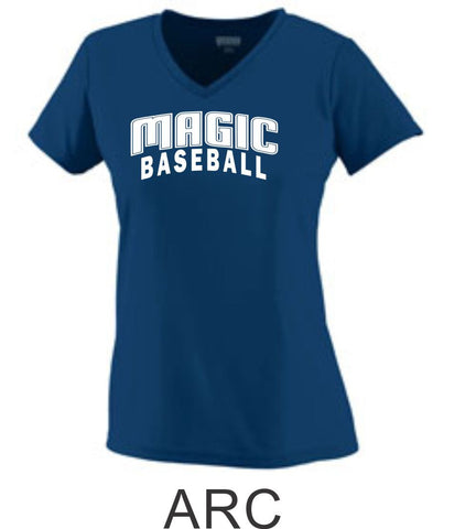 Magic Ladies Wicking T-Shirt- 4 designs