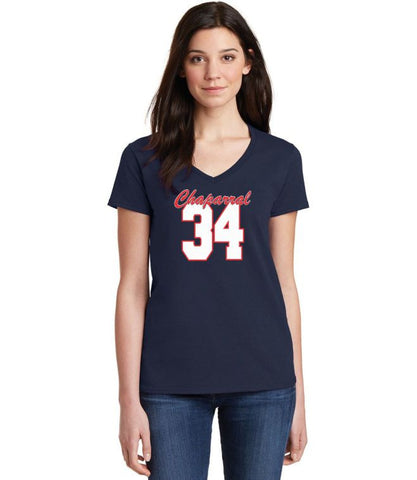 Chap Ladies Customized Short Sleeve Tee