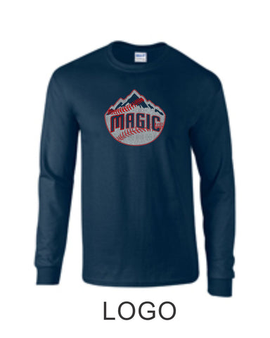 Magic Long Sleeve Glitter Tee- 3 Designs