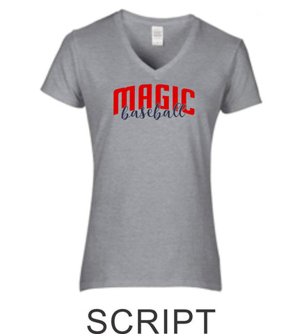 Magic Ladies Short Sleeve Tee- 4 Designs