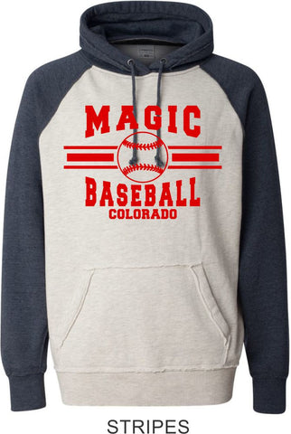 Magic Vintage Heathered Hoodie- 2 designs