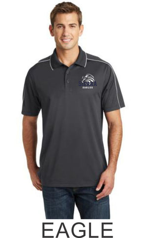 Sierra Staff Piped Polo- Unisex- 3 Designs