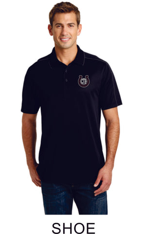 CTE Piped Polo- Unisex- 3 Designs