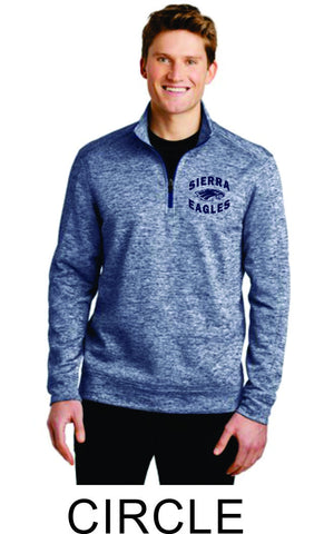 Sierra Staff Quarter Zip- 3 Designs-AVAILABLE 1ST WEEK IN SEPT