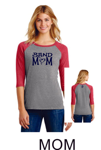 Chap Band Ladies Raglan - Matte or Glitter