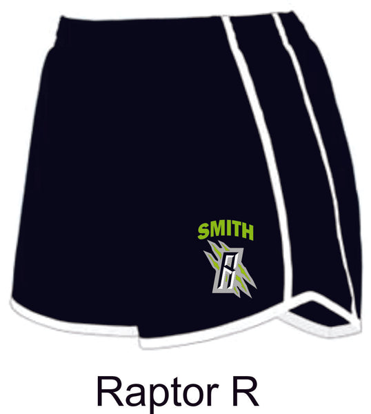 Raptors Ladies/Girls Running Shorts- 2 designs