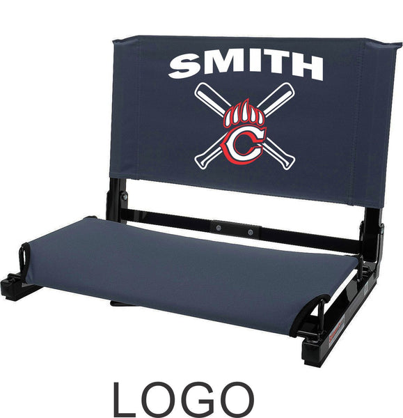 Chap Baseball Stadium Seat in 4 Designs- Matte or Glitter