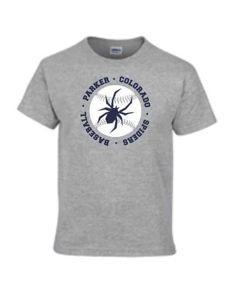 Spiders Circle Tee- Matte or Glitter