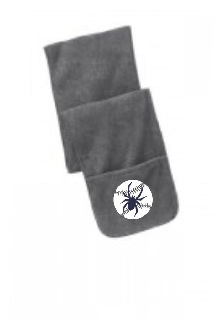 Spiders Ball Fleece Scarf
