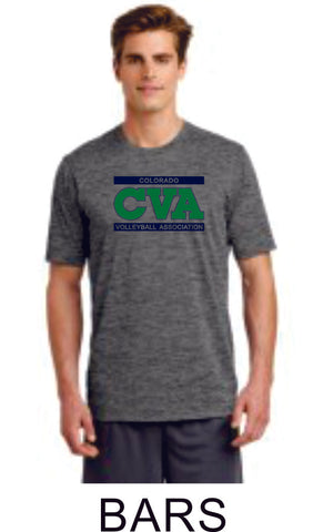 CVA Sport-Tek Heathered Tee - 3 designs