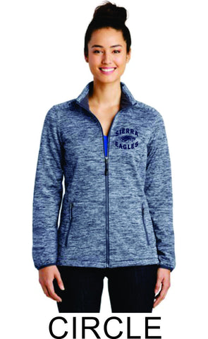 Sierra Staff Heathered Jacket- Ladies- 3 Designs