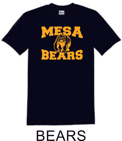 Mesa MS  Basic Bears  Tee- Matte or Glitter