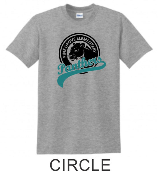 PGE Grey T-Shirt- 7 Designs