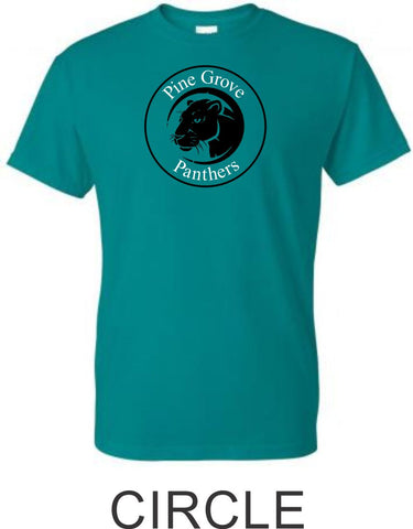 PGE Teal Basic Tee- 4 Designs- Matte or Glitter