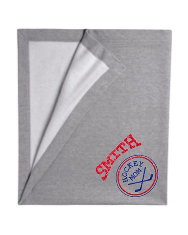Hockey Mom Blanket - Matte or Glitter