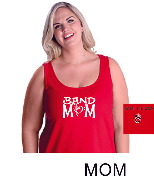 Chap Band Curvy Ladies Basic Tank- 4 designs- Matte or Glitter
